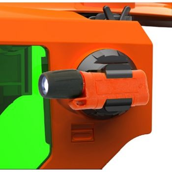Salisbury FLKIT Flashlight Kit with Clip  Plastic Material Orange Color One Size - 1 / EA