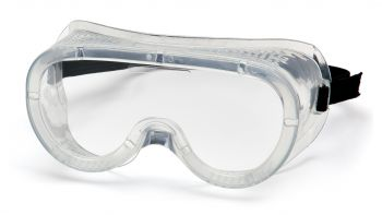 Pyramex  Goggles  Perforated Clear Polycarbonate Safety Glasses  1 Pair
