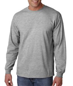 Bodek & Rhodes 'Gildan' Ultra Cotton Adult Long-Sleeve T-Shirt