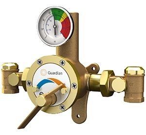 Guardian G3800LF Shower/Combination Station Thermostatic Mixing Valve Tempering Valve