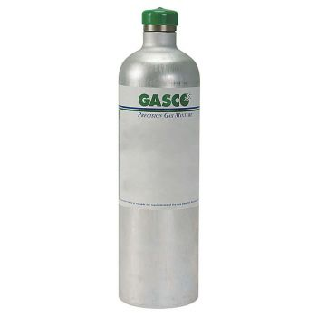 Benzene 5 PPM in Air Calibration Gas 34 Liter Steel Disposable Cylinder
