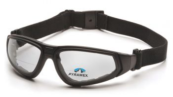 Pyramex  XSG Reader  Black Frame/Clear Anti Fog + 2.5 Lens Polycarbonate Safety Glasses  6 / BX