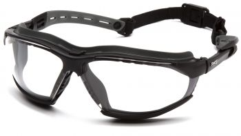 Pyramex Isotope Goggles Clear Polycarbonate One Size - 12 per Box