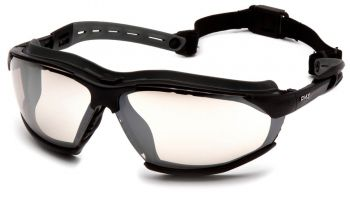 Pyramex Isotope BlackGray Body / IndoorOutdoor AF Lens Safety Glasses 12/BX