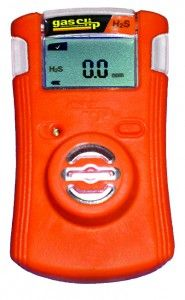 Single Gas Clip 'Plus' Detector with Hibernate Mode - CO