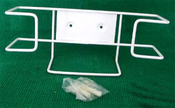 Wire Frame Disposable  Glove Holder Color White