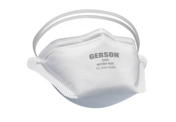 Gerson 3230 Extreme Comfort N95 Respirator, Case of 100