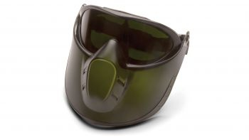 Direct/Indirect Goggle With Ir5 Lens And Green Tinted Faceshield Attachment