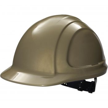 Honeywell North Zone Hard Hat N10130000 Gold Quick Fit Style (Cap and Suspension Assembly) 12/Case