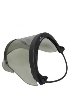 NSA H12HTFB 12 cal PureView Arc Flash Faceshield with Full Brim Adapter
