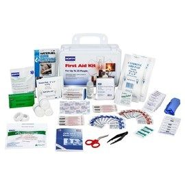 Honeywell White Plastic Portable 25 Person First Aid Kit
