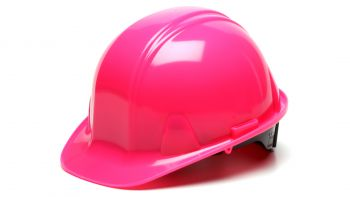 Pyramex HP14170 SL Series Hard Hat One Size ANSI Z89.1 standards, Type 1 - Class C, G, and E Polyethylene  Pink Color - 16 / CS