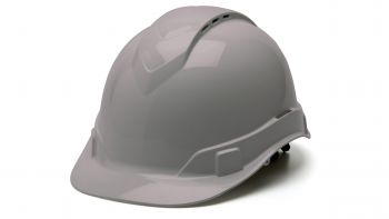Pyramex HP44112V Ridgeline Hard Hat One Size ANSI Z89.1 standards, Type 1 - Class C, G ABS  Gray Color - 16 / CS
