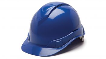 Pyramex HP44160V Ridgeline Hard Hat One Size ANSI Z89.1 standards, Type 1 - Class C, G ABS  Blue Color - 16 / CS