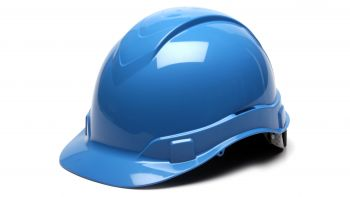 Pyramex HP44162 Ridgeline Hard Hat One Size ANSI Z89.1 standards, Type 1 - Class C, G, and E ABS  Blue Color - 16 / CS