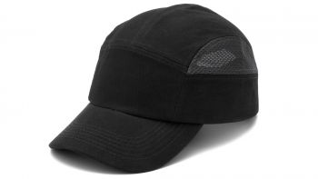 Pyramex HP50011 Baseball Bump Cap One Size  Polyethylene  Black Color - 12 / CS