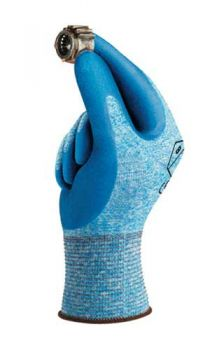 Ansell HyFlex Gloves Nylon Material Blue Color - 144 / Case