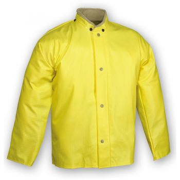 Tingley Webdri Jacket Yellow Storm Fly Front Hood Snaps
