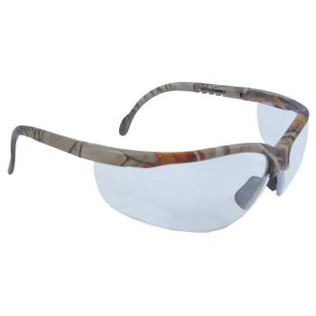 Radians Journey Clear Realtree Camo Frame Safety Glasses Camo 12 PR/Box