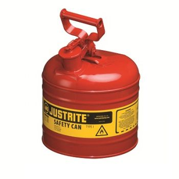 Justrite Type 1 Safety Can - 2 Gallon
