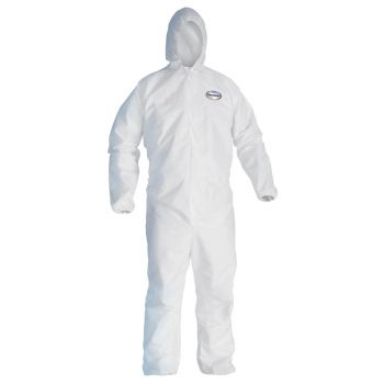 Kimberly Clark 44323 Kleenguard™ A40 Liquid & Particle Protection Coveralls 25/Case Large