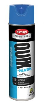 Krylon QUIK MARK Blue Water based Inverted Marking Paints 17 oz. 12 Cans