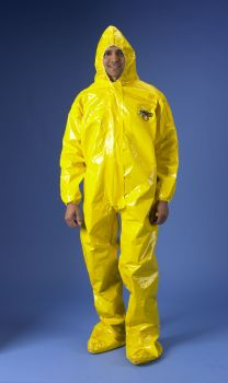 ChemMax 4 Coverall - Hood & Boots - Yellow