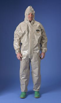 Lakeland ChemMax 4 Coverall - Attached Hood - Tan