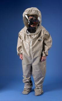 Lakeland ChemMax 4 Encapsulated Suit - 2 Exhaust Ports - Color Tan