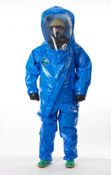 Interceptor Deluxe Encapsulated Suit - Front Entry - Wide View Face Shield