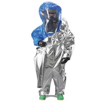 Interceptor Certified Encapsulated Suit  Front Entry  WideView Face Shield