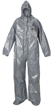 ChemMax 3 Coverall - Sealed Seams - Respirator Fit Hood & Boots (Case of 6)