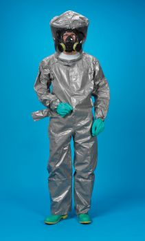 Lakeland ChemMax 3 Encapsulated Suit  Respirator Fit Hood  1 Exhaust Port