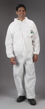 SafeGard Coverall - Elastic Wrists & Ankles (SMS)