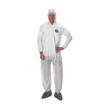 Lakeland MicroMax CTL414 Coverall with Attached Hood, Boots and Elastic Wrists (25 Per Case)