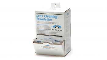 Pyramex Accessories 100 Individually Packaged Lens Cleaning Towelettes