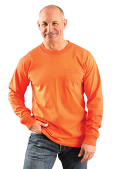 Occunomix LUX-300LP Classic Cotton Long Sleeve with Pocket