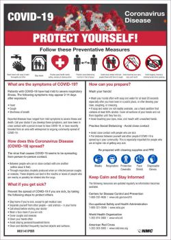 NMC COVID-19 Protect Yourself Sign