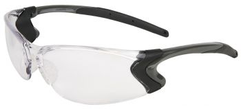 MCR BD110P  Backdraft Safety Glasses Clear lens (1 DZ)
