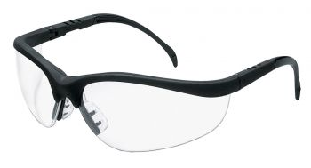 MCR Crews KD110 - Klondike Clear Lens Safety Glasses 1/DZ