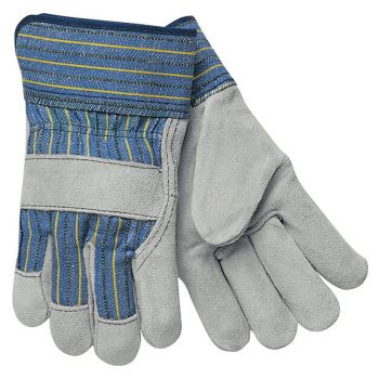 Select Split Leather Palm Gloves - Med
