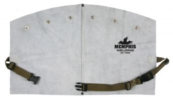 Memphis Welding Bib with Snaps to Fit Cape Sleeve - 14 Inch - 38114MW