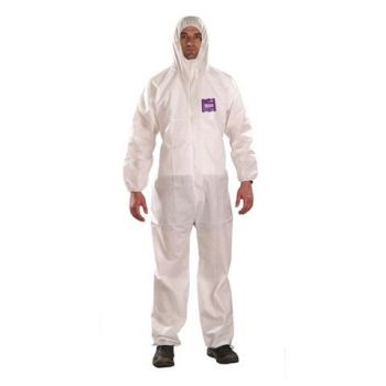 Ansell MicroChem® AlphaTec® 68-1500 Model 101 Hooded Coverall (25/CS)