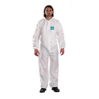 Ansell MicroChem Bound Collared Coveralls AlphaTec 68 1800 Model 103 (25/Case)