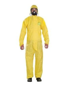 Ansell Microchem® AlphaTec® 2300 PLUS - Model 132 Hooded Coverall 25/Case
