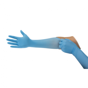 Ansell Microflex 93 243 4.7 Mil Disposable Nitrile Glove (10 Boxes/Case)
