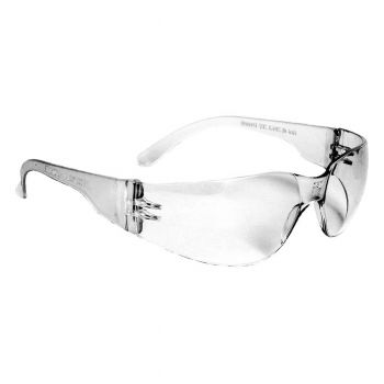 Radians Mirage Clear AntiFog Safety Glasses Frameless Clear 12 PR/Box