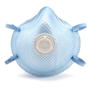 Moldex 2300 N95 Particulate Respirator with Exhalation Valve, Box of 10