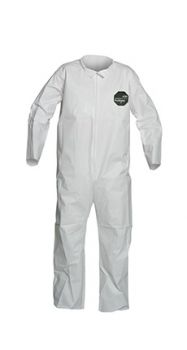 DuPont™ ProShield® 50 NB120S Tyvek Material Coverall White Color 6X Size - 25 / CS