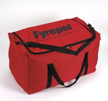 Lakeland Turnout Red Cordura Gear Bag